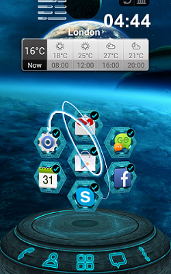 Next Launcher 3D Shell 3.20.2 Patched دانلود لانچر سه بعدی